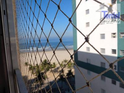 Kitnet Em Praia Grande, 01 Dormitório, No Bairro Guilhermina, Kn0148 - Kn0148