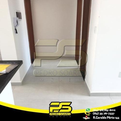 Apartamento Com 2 Dormitórios À Venda, 50 M² Por R$ 200.000 - Manaíra - João Pessoa/pb - Ap2436