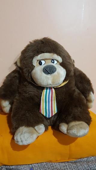 Pelucia Macaco Urso 40 Cm