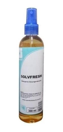 02un Solvfresh Detergente Spray 300 Ml Spartan Limpeza Roupas Tira Mancha