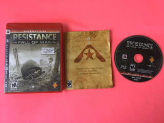Resistance Fall Of Man Ps3 (game Army)