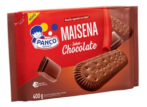 Biscoito Maisena Sabor Chocolate Panco 400 Grs