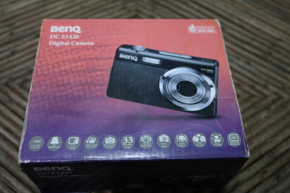 Camera Benq 14mp E1420 Mostruário - Dalfunz