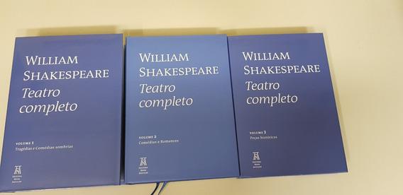 Coleção William Shakespeare - Teatro Completo - 03 Volumes