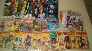 Cómics Kaliman, Memin Pinguin, Marvel, Dc Lote De 50 Piezas