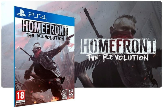 Jogo Novo Homefront The Revoution +dlc Para Ps4 Midia Fisica