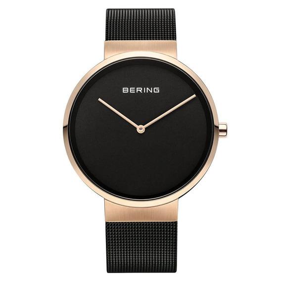 Reloj Bering Classic Collection Acero Negro Unisex 14539-166