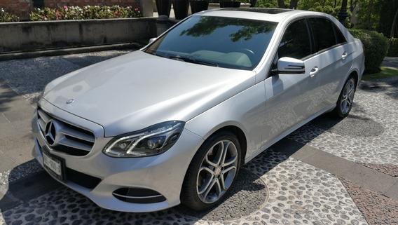 Mercedes-benz Clase E 2014 E250 Sedan Extremadamente Cuidado