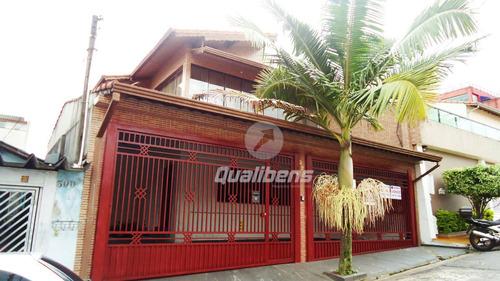 Imagem 1 de 17 de Casa Com 4 Dormitórios À Venda, 350 M² Por R$ 800.000,00 - Parque São Vicente - Mauá/sp - Ca0069