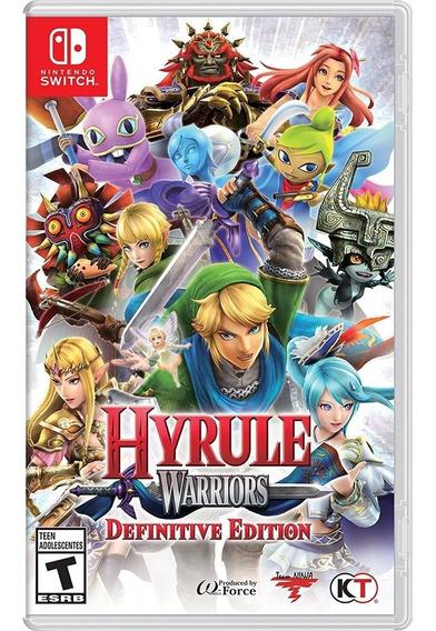 Hyrule Warriors Mídia - Física - Switch - Novo