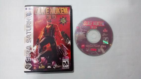 Duke Nukem 3d Original - Sega Saturn