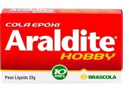 Cola Adesivo Alta Resistencia Epoxi Araldite Hobby 23g