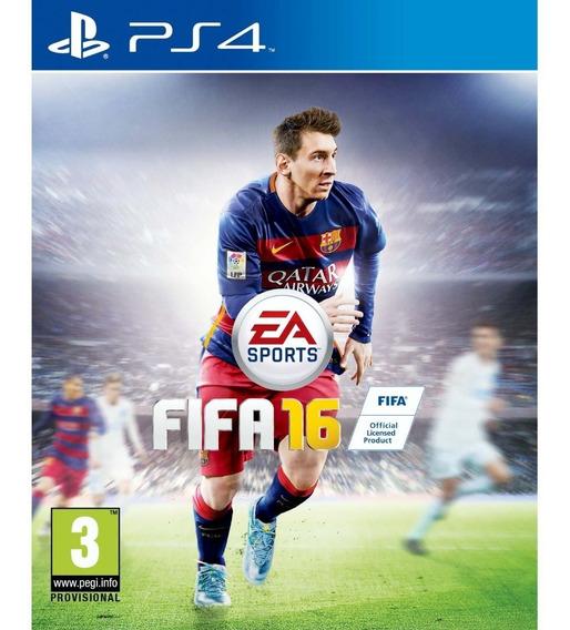 Game Ps4 Fifa 16 - Original - Novo - Lacrado