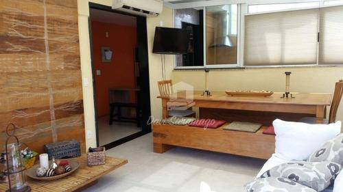 Cobertura Com 2 Dormitórios À Venda, 96 M² Por R$ 900.000,00 - Itacoatiara - Niterói/rj - Co0039