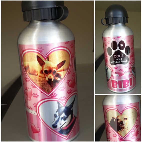 Squeeze Aluminio Love Pet