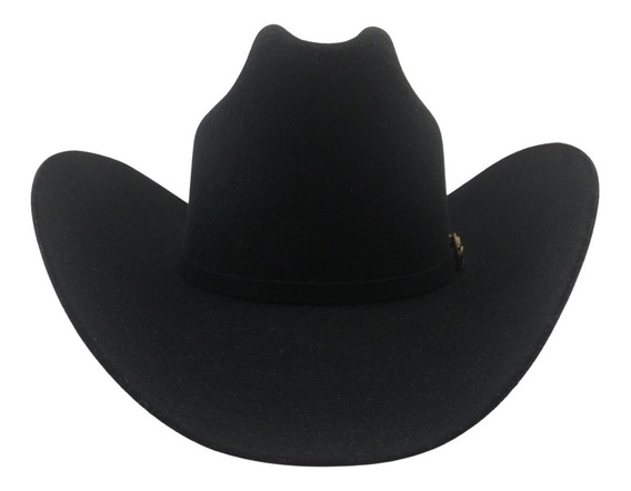 Sombrero Texana Alto 20 X Tombstone Negro Modelo Patrón Lana