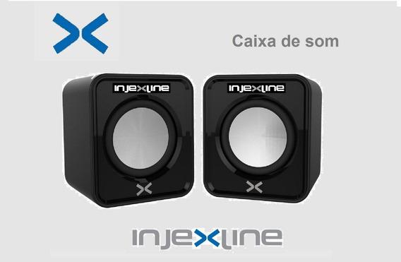 Caixa De Som 5w / Usb / P2 Notebook/pc/ Celular