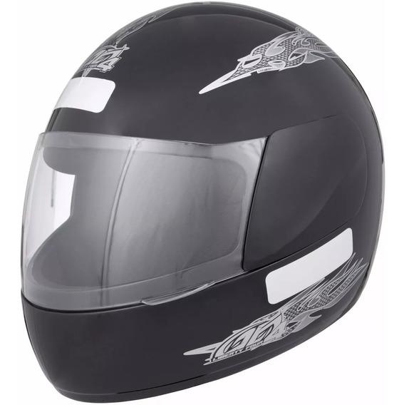 Capacete Moto Liberty Four Preto -compre Já