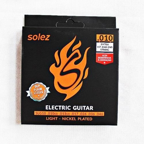 Imagem 1 de 5 de Cordas Para Guitarra .010,.013,.017,.026,.036,.046 Aço Dlp