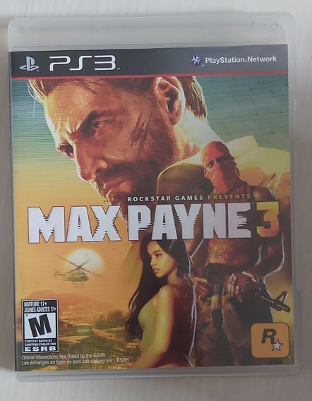 Jogo Max Payne 3 - Ps3 - Mídia Física - Usado