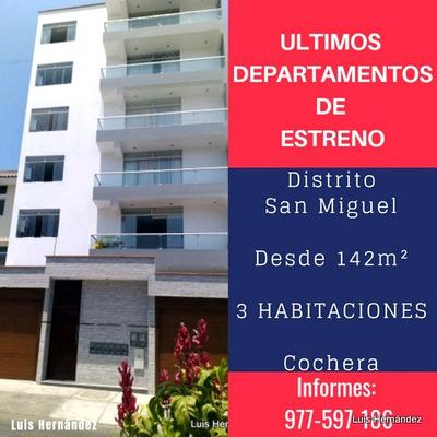 Venta Departamento Distrito San Miguel