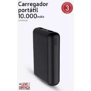 Carregador Portátil Universal 10000 Mah Preto - Xtrax