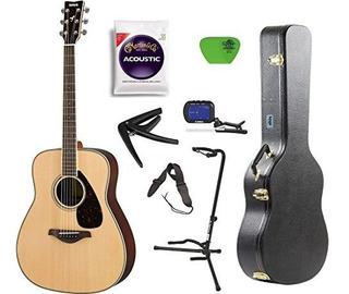 Yamaha Fg800 Guitarra Acustica Tapa Solida Con Funda De Guit