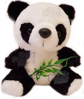 Oso Panda De Peluche Souvenir Pandita Peluche Chico Divino