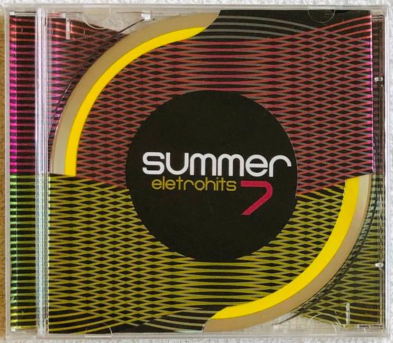 Cd Summer Eletrohits 7 (2010) Lacrado Original Raro Em Estoq