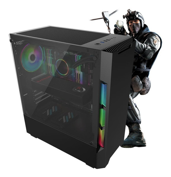 Pc Gamer Neologic Nli81349 I5-9400f 8gb(rx580 8gb) Ssd 240gb
