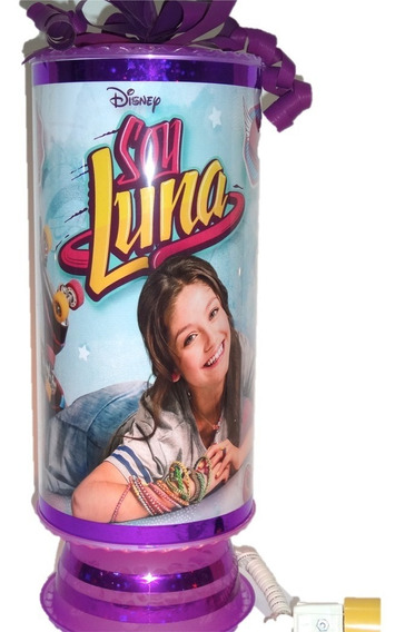 Soy Luna Centros De De Mesa 10 Lamparas 38cm. Envio Inlcuido