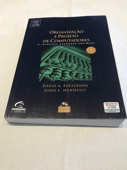 Livro Organização E Projeto De Computadores -david Patterson