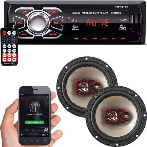 Aparelho Mp3 Com Bluetooth Radio Fm Usb + Falante Bravox 06