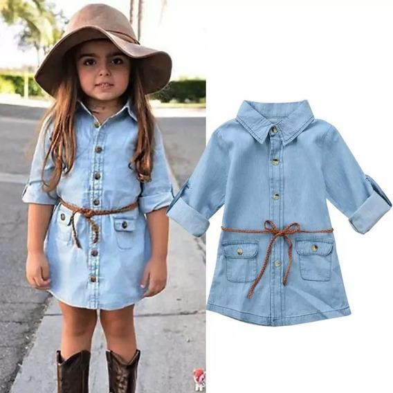 Blusão Jeans Estiloso Infantil 1 Ano Até 5 Anos