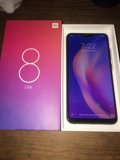 Smartphone Xiaomi Mi 8 Lite + 2 Fundas