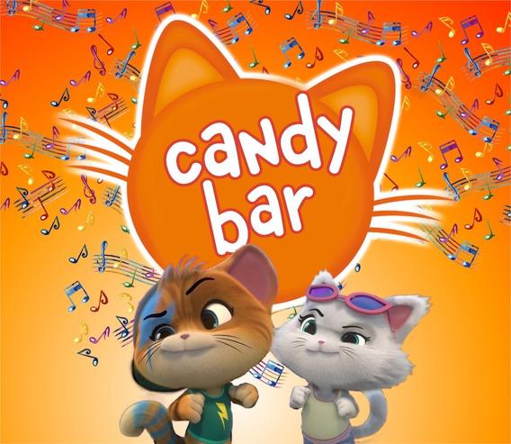 44 Cats Candy Bar Personalizados Imprimibles