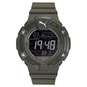 Relógio Puma 96289g0pvnp2 - Verde Musgo