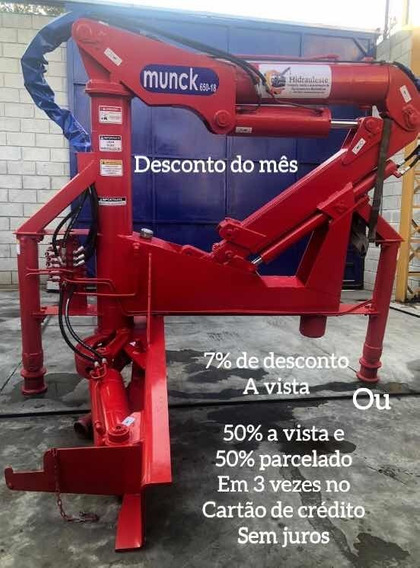 Munck 650-18 P/3 Ton 100% Reformado