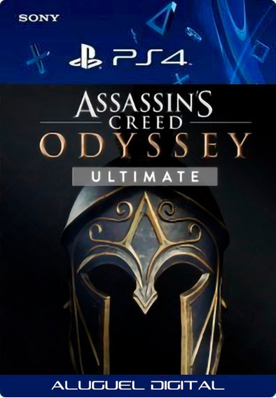 Assassins Creed Odyssey Ultimate Edition Ps4 Aluguel 7 Dias