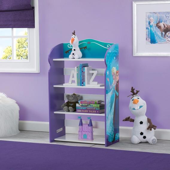 Librero Infantil Juguetero Organizador Frozen Y Paw Patrol