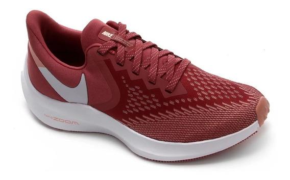 Tênis Nike Zoom Winflo 6 Esportivo Feminino Aq8228
