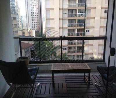 Sala Living Em São Paulo Bairro Vila Nova Conceição - A493