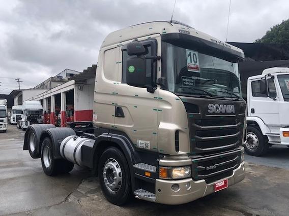 Scania G 420 G420 2010 C/ar 6x2 = R440 380 Volvo Fh 440 460