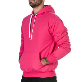 Moletom Capuz Blusa Blusão Masculino Liso Cores Especiais