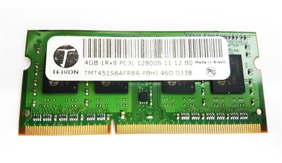 Memória Ram 4gb Ddr3l Teikon Acer Aspire E-571 12800s