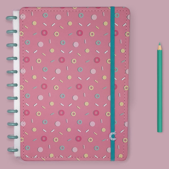 Caderno Inteligente Grande Estampa Mania Lolly