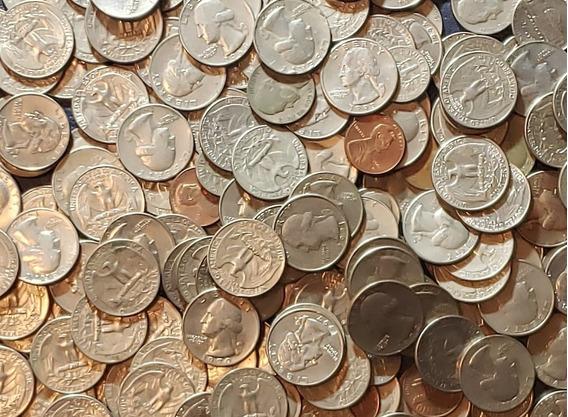 Bkz / Lote Monedas Estados Unidos / Usd 50 Valor Nominal
