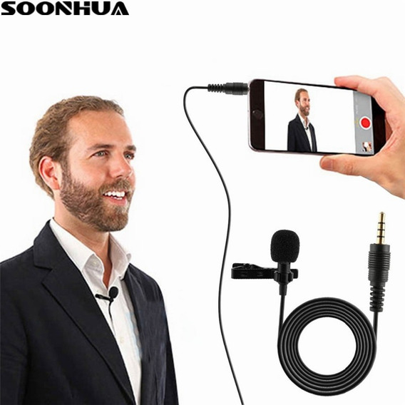 Microfone Profissional Lapela Para Celular Android iPhone