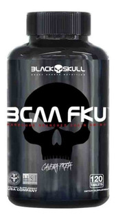 Bcaa Fku 1.3gr 120tabs Black Skull