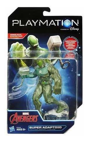 Figura Inteligente Marvel Avengers Playmation Súper Adaptoid